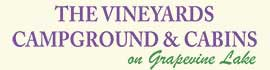 logo for The Vineyards Campground & Cabins