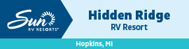logo for Hidden Ridge RV Resort