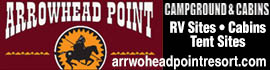 logo for Arrowhead Point Campground and Cabins