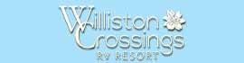 logo for Williston Crossings RV Resort
