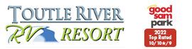 logo for Toutle River RV Resort