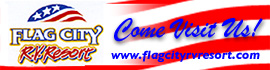 logo for Flag City RV Resort