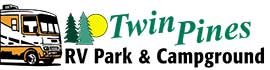 logo for Twin Pines RV Park & Campground
