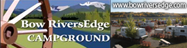 logo for Bow RiversEdge Campground