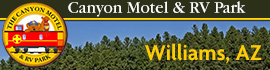 logo for Canyon Motel & RV Park