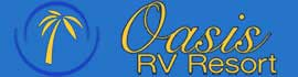 logo for Oasis RV Resort