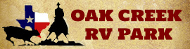 logo for Oak Creek RV Park