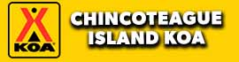 logo for Chincoteague Island KOA