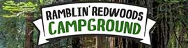 logo for Ramblin' Redwoods Campground