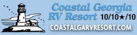 logo for Coastal Georgia RV Resort