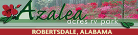 logo for Azalea Acres RV Park