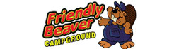 logo for Friendly Beaver Campground