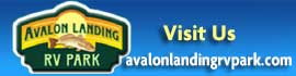 logo for Avalon Landing RV Park