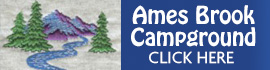 logo for Ames Brook Campground