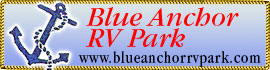 logo for Blue Anchor RV Park