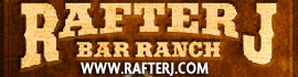 logo for Rafter J Bar Ranch Camping Resort
