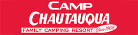 logo for Camp Chautauqua Camping Resort