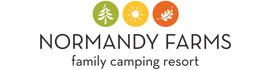 logo for Normandy Farms Family Camping Resort