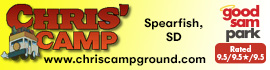 logo for Chris' Camp & RV Park
