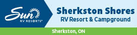 logo for Sherkston Shores RV Resort