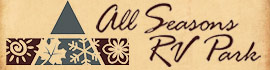 logo for All Seasons RV Park
