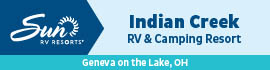 logo for Indian Creek Camping Resort