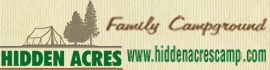 logo for Hidden Acres Family Campground
