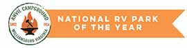 logo for Anvil Campground