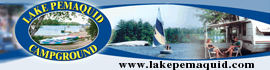 logo for Lake Pemaquid Campground