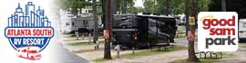logo for Atlanta South RV Resort