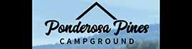 logo for Ponderosa Pines Campground