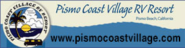 logo for Pismo Coast Village RV Resort