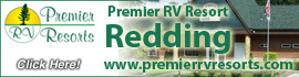 logo for Redding Premier RV Resort