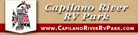 logo for Capilano River RV Park