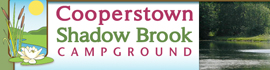 logo for Cooperstown Shadow Brook Campground