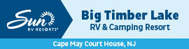 logo for Big Timber Lake RV Camping Resort