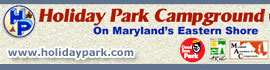 logo for Holiday Park Campground