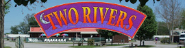 logo for Two Rivers Campground