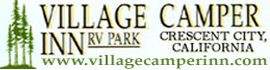 logo for Village Camper Inn RV Park