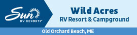 logo for Wild Acres RV Resort & Campground