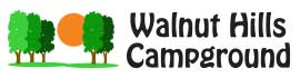 logo for Walnut Hills Campground and RV Park