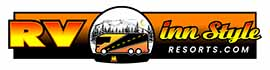 logo for Harmony Lakeside RV Park & Deluxe Cabins
