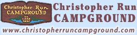 logo for Christopher Run Campground