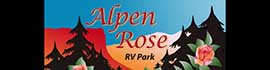 logo for Alpen Rose RV Park