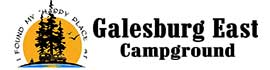 logo for Galesburg East Campground