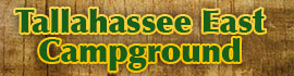 logo for Tallahassee East Campground