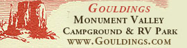 logo for Goulding's Monument Valley Campground & RV Park