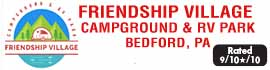 logo for Friendship Village Campground & RV Park