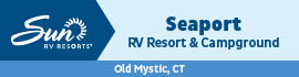 logo for Seaport RV Resort & Campground