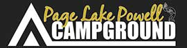 logo for Page Lake Powell Campground